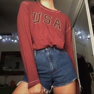 Vintage USA Long Sleeve